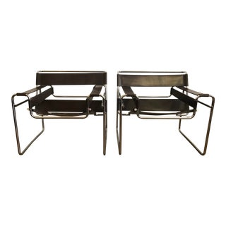 1960s Vintage Knoll Wassily Chairs - A Pair For Sale