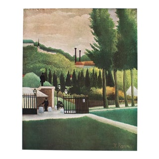 "1940s Henri Rousseau, Original ""The Toll-Gate"" Swiss Lithograph For Sale"