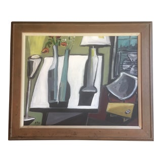 Original Stewart Ross Still Life Painting For Sale