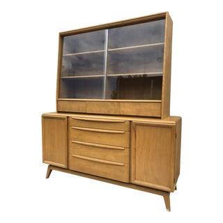 1950s Mid-Century Modern Heywood-Wakefield China Cabinet