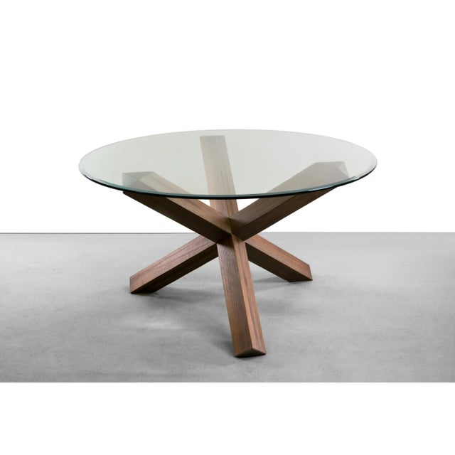 Sculptural Cerused White Oak Dining Table Attributed to Ralph Lauren - Image 2 of 11