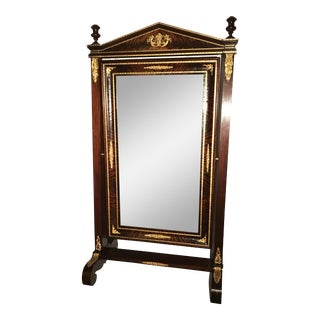 Large Edwardian Swivel Mirror