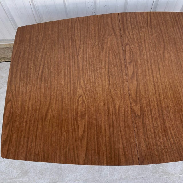 Mid 20th Century Mid-Century Dining Table With Two Leaves For Sale - Image 5 of 13