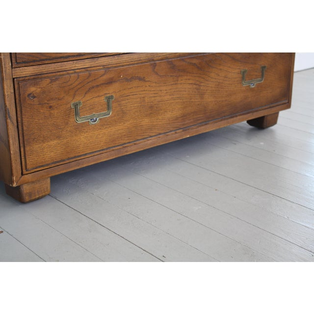 Henredon Campaign Style Armoire - Image 7 of 11