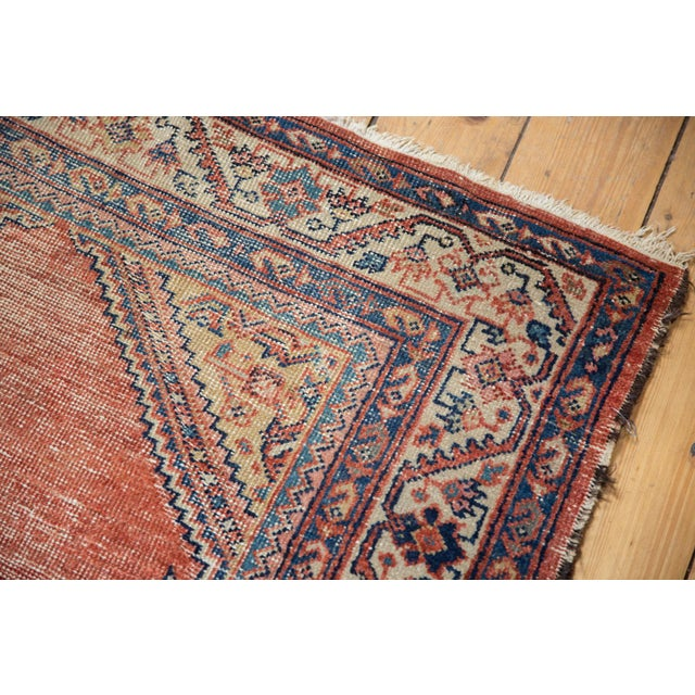 """Antique Malayer Rug Runner - 3'8"""" x 7'6"""" For Sale - Image 9 of 13"""
