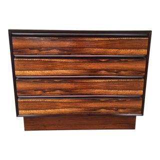 1970's Westnofa Scandinavian Rosewood Dresser For Sale