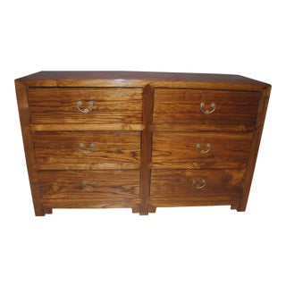 Chinese Elmwood Chest of Drawers For Sale