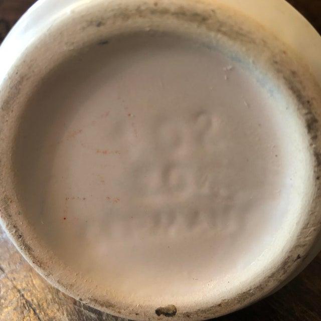 Ceramic German Mid Century Art Pottery Vase For Sale - Image 7 of 8
