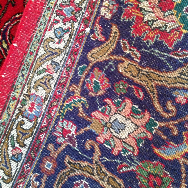 Colorful Kashan Hand-Tied Rug - 13' X 10' - Image 4 of 8