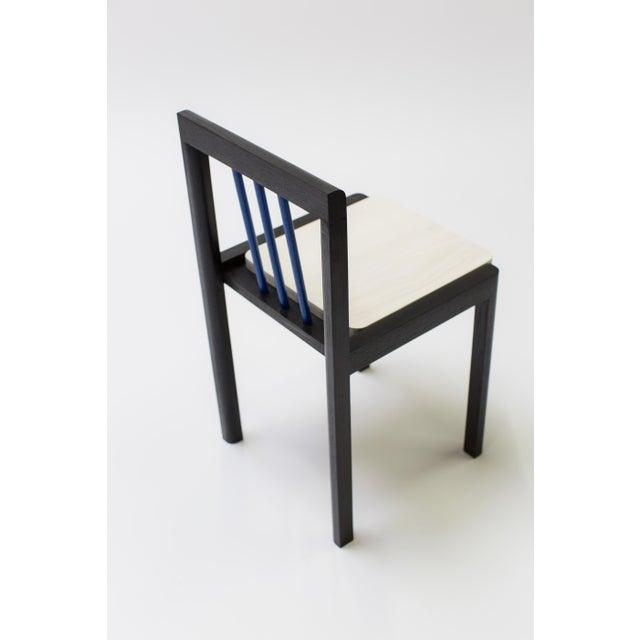Steven Bukowski Steven Bukowski Contemporary Piano Chair in Lacquered Ash For Sale - Image 4 of 8