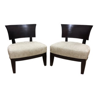 Pair of Bernhardt Lounge Chairs For Sale
