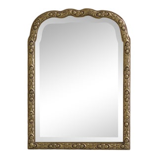 Friedman Brothers Small Beveled Glass Mirror For Sale