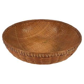 Oversize Wicker Basket For Sale