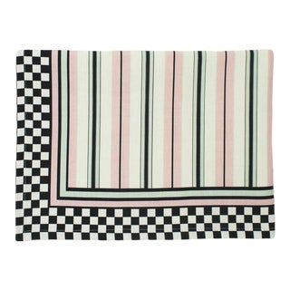 The Harlequin Cotton Linen Table Cloth, Large For Sale