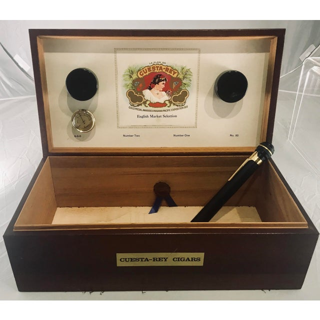 1980s Traditional Cuesta-Rey Cigar Humidor For Sale - Image 12 of 12
