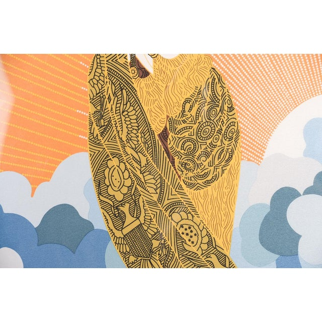 Erte Art Deco Serigraph-Wing of Victory For Sale - Image 5 of 11