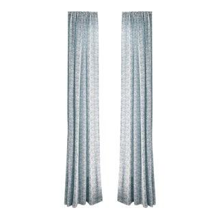 "Pepper Emma Sky 50"" x 96"" Blackout Curtains - 2 Panels For Sale"