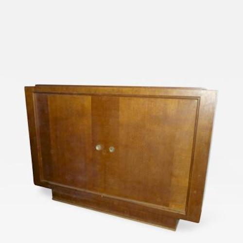 1950s Oak Pure Design 2 Doors Cabinet For Sale - Image 5 of 5