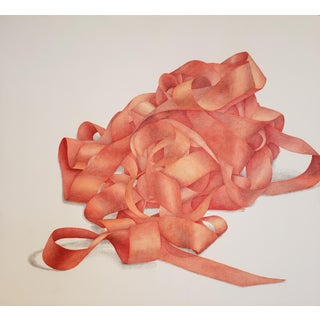 """Greg Murr """"Ribbon Study No. 7"""" Still Life Painting For Sale"""