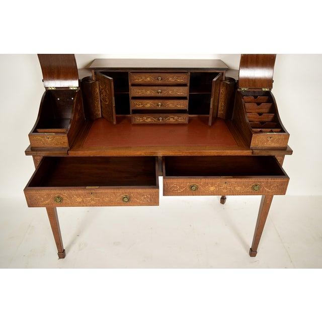 1900s English Carlton Desk - Image 7 of 11