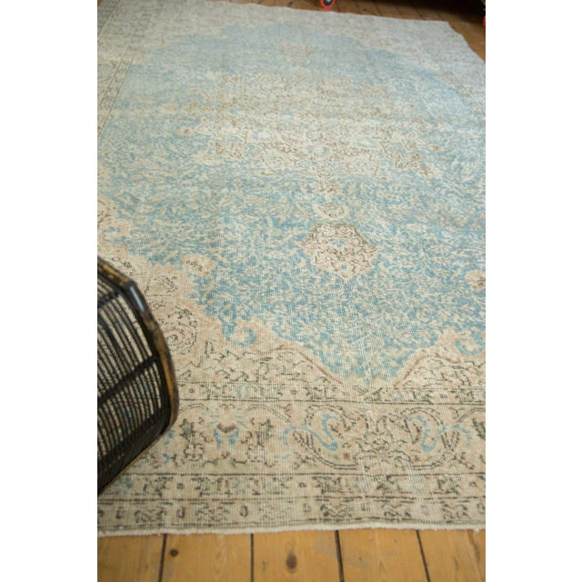 "Vintage Distressed Sivas Carpet - 7' X 10'4"" For Sale In New York - Image 6 of 13"