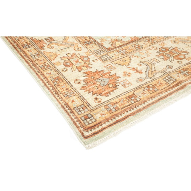 """Traditional Lois, Oushak Area Rug - 7' 10"""" X 10' 5"""" For Sale - Image 3 of 4"""