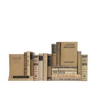 Midcentury MIX in Khaki & Black - Twenty Decorative Books