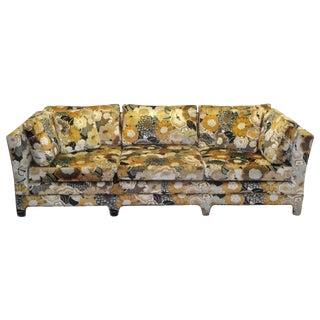 Jack Lenor Larsen Velvet Sofa