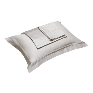 Double Hemstitch Pillowcases - a Pair For Sale
