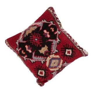 Vintage Carpet Pillow For Sale