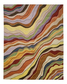 Image of Abstract Contemporary Handmade Rugs
