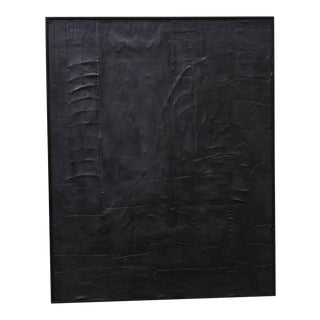Monochrommatic Minimalism Abstract Painting by Kelly Caldwell For Sale