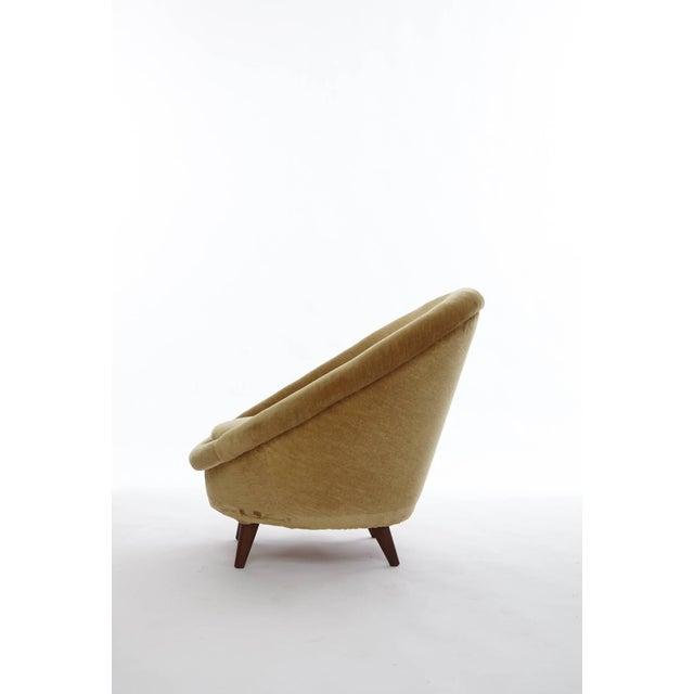 Mid-Century Modern 1950s Norwegian Egg Chair For Sale - Image 3 of 8