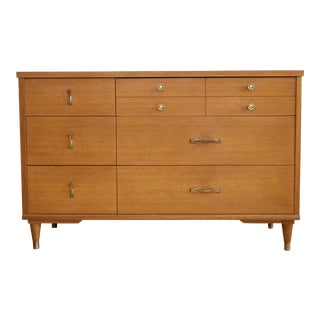 Paul McCobb Style Mid Century Modern Danish Dresser For Sale