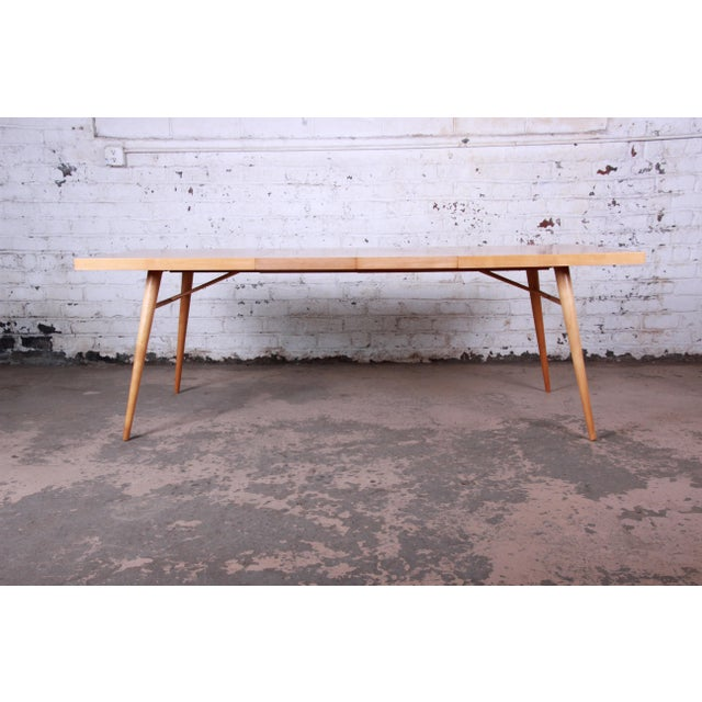 1950s 1950s Paul McCobb Planner Group Maple Extension Dining Table For Sale - Image 5 of 13