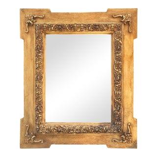 Antique Spanish Carved & Gilded Wood Frame For Sale