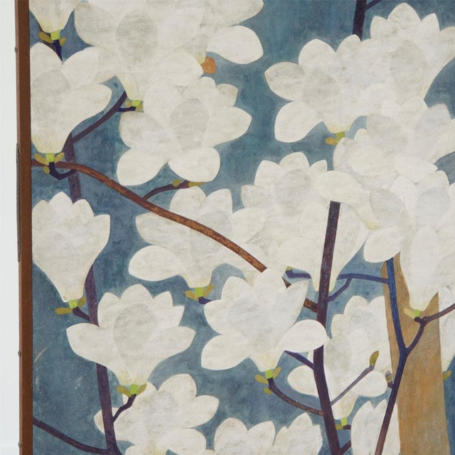 Japanese Floral Screen - Image 3 of 4