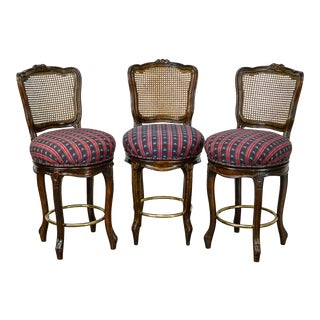 Fremarc Designs Country French Set of 3 Bar Stools