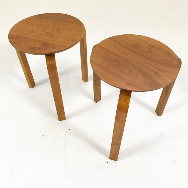 The simple lines, the delicate scale, the beautiful wood. We love these side tables. No wonder everyone loves Scandinavian...