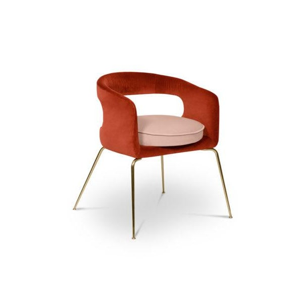 Ellen is a fanciful dining chair full of luxurious features. Its distinctive open curved back is extremely sculptured and...