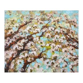 Sakura Flowers Painting For Sale