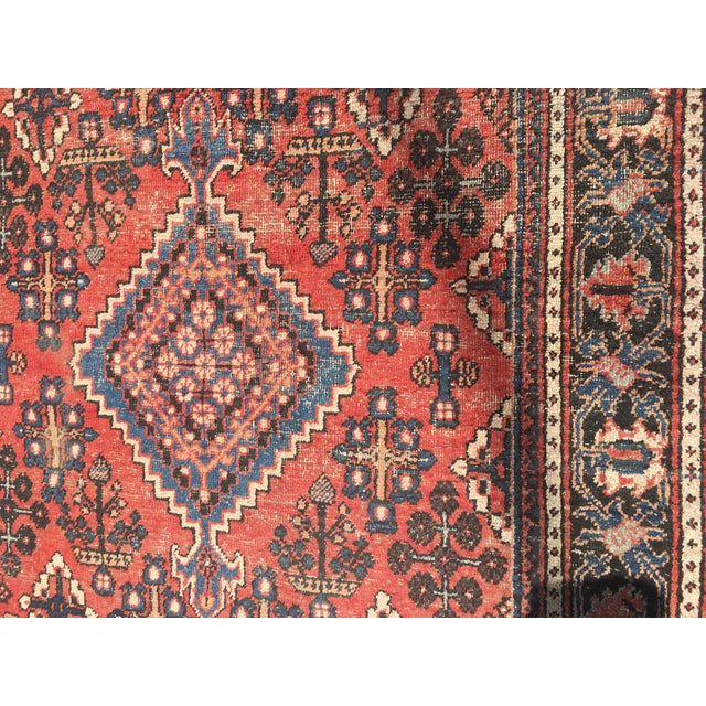 "Gorgeous Persian Vintage Wool Rug - 51"" x 73"" - Image 4 of 5"
