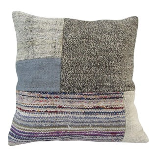 Handmade Decorative Patchwork Turkish Kilim Pillow Cover For Sale