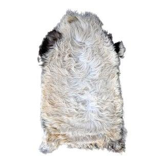 Natural Sheepskin Rug, Original Aydin Rug For Sale