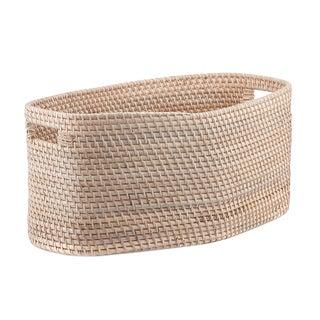Mahogany Bottomed Basket For Sale