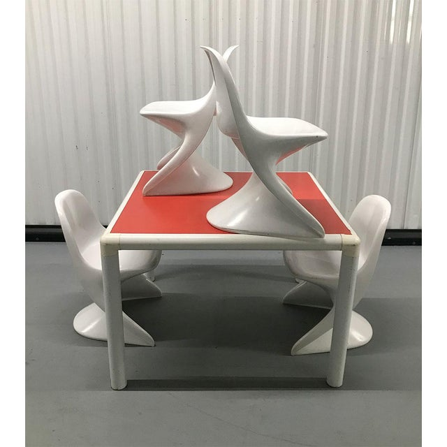 Alexander Begge 1970s Child's Table and Casalino Stacking Chairs For Sale - Image 4 of 11