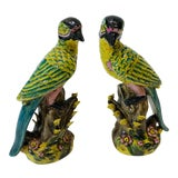 Image of 1980s Bird Statue - a Pair For Sale