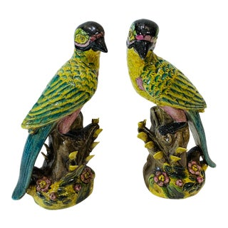 1980s Bird Statue - a Pair For Sale