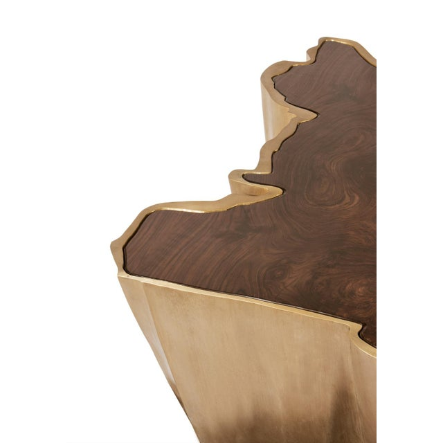 Modern Sequoia Center Table From Covet Paris For Sale - Image 3 of 8