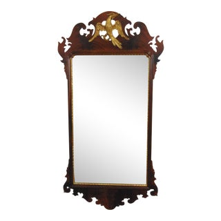 LaBarge Winterthur Collection Chippendale Mahogany Mirror For Sale